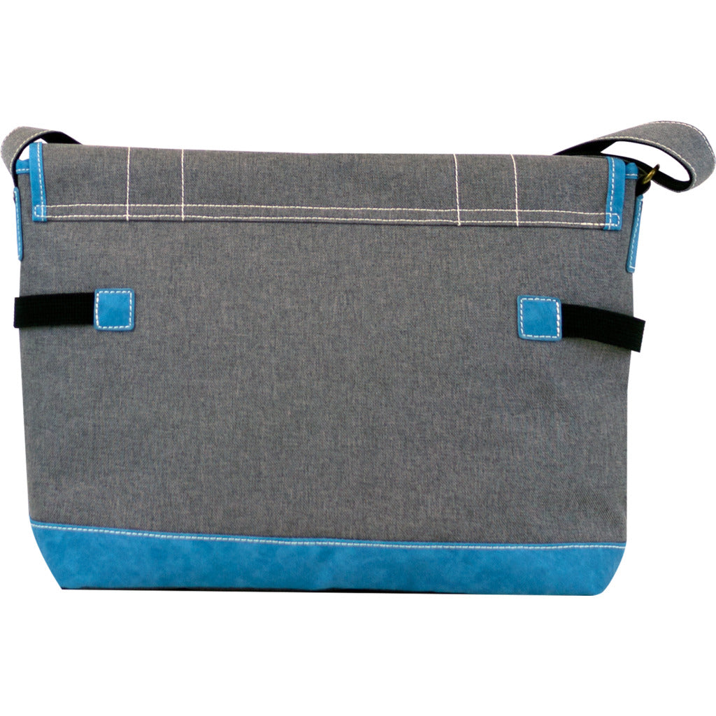 Harvest Label Palette Messenger| Grey hhc-5772-gry
