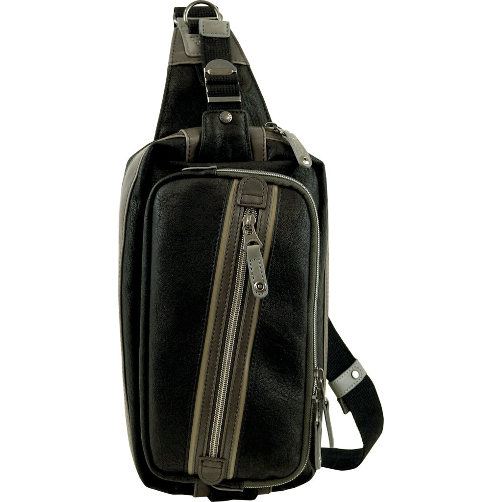 Harvest Label Slinger Cross Pack | Black HHC-5837-BLK