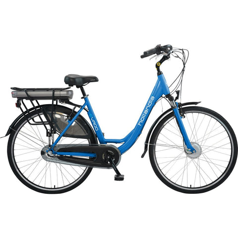 Hollandia Evado Nexus 3.18 Step-Through 700C Electric Bicycle | Electric Blue HL12A-18