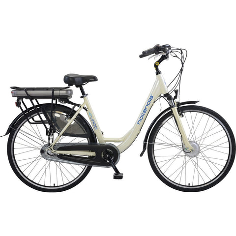 Hollandia Evado Nexus 3.18 Step-Through 700C Electric Bicycle | Pearl White HL12B-18