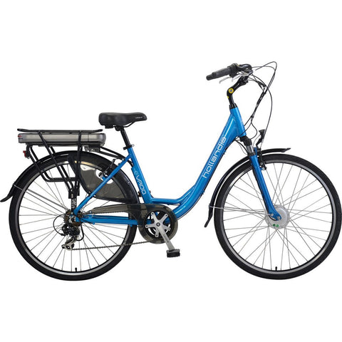 Hollandia Evado 7.18 Step-Through 700C Electric Bicycle | Electric Blue HL13A-18