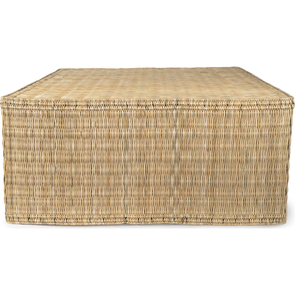 - Hawkins New York Woven Coffee Table Natural - Sportique