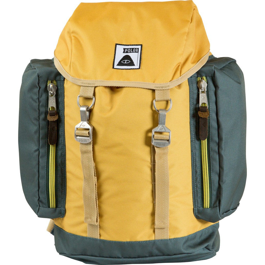 Poler Rucksack Backpack | Mustard/Forest