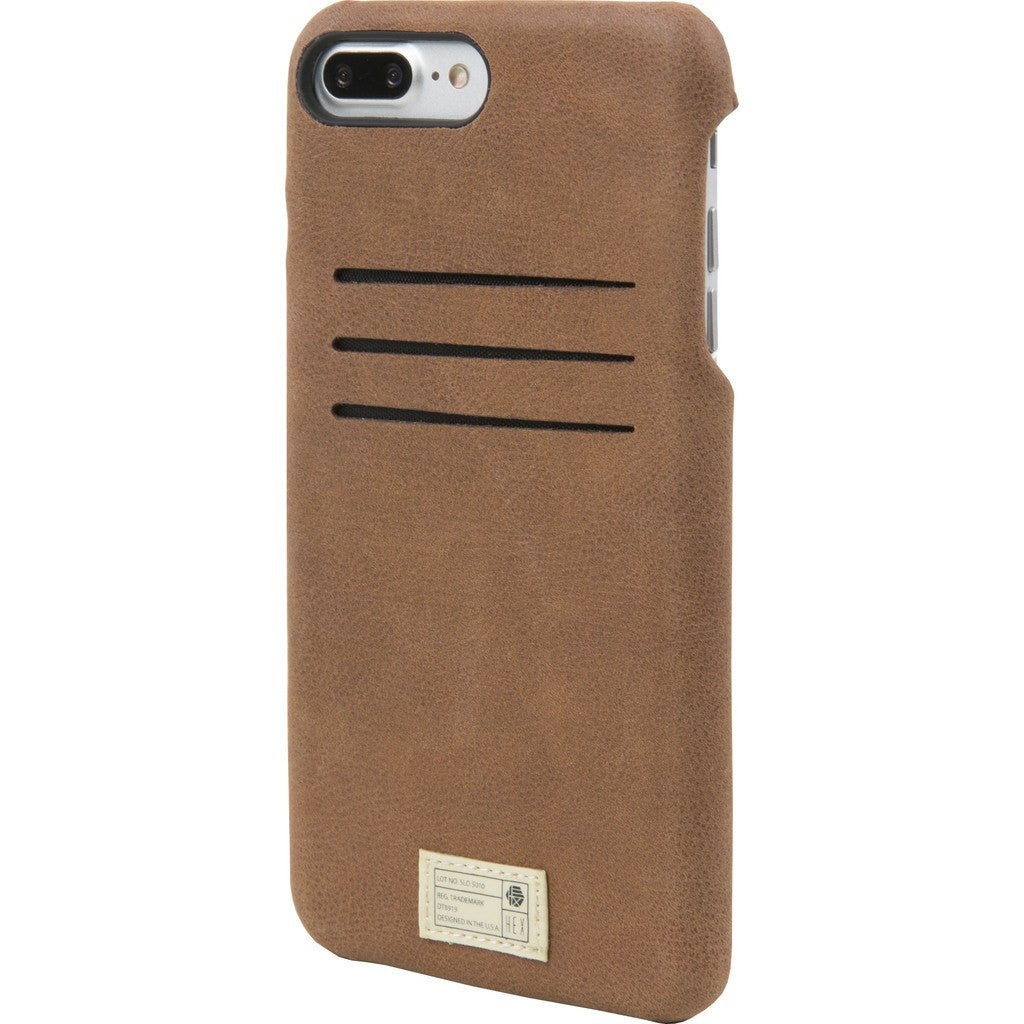 Hex Solo Wallet Case for iPhone 7+ | Brown HX2281