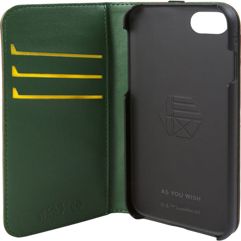 Hex Wallet For Iphone 8 | Boba Fett Burgundy Emboss HX2530-BFBE