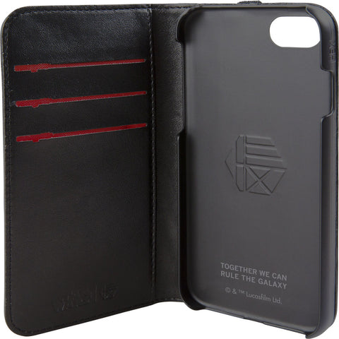 Hex Wallet For Iphone 8 | Darth Vader Black Emboss HX2530-DVBE