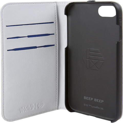 Hex Wallet For Iphone 8 | R2-D2 Grey Emboss HX2530-R2GE