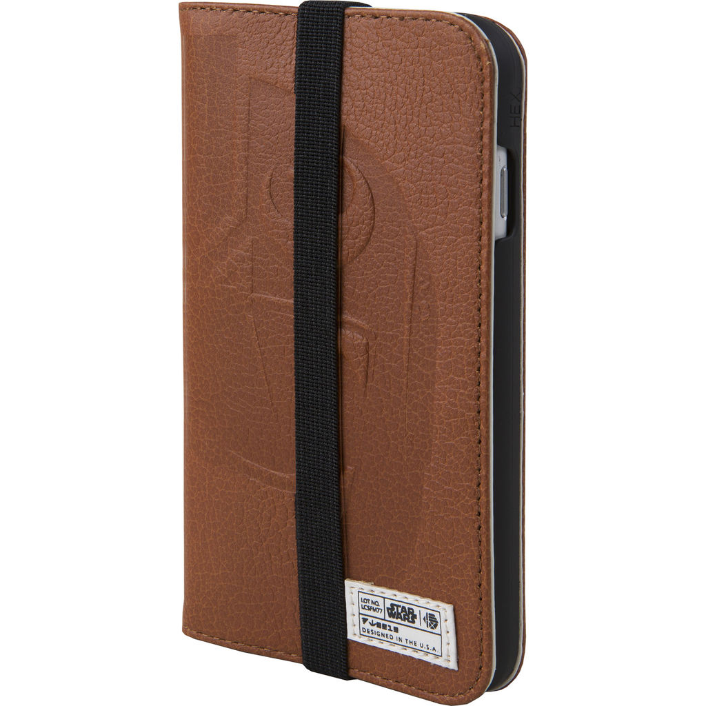 Hex Wallet For Iphone 8 | X-Wing Brown Emboss HX2530-XWBE