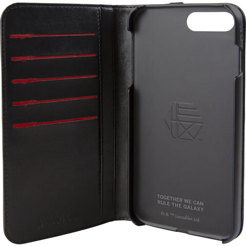 Hex Wallet For Iphone 8 Plus | Darth Vader Black Emboss HX2532-DVBE