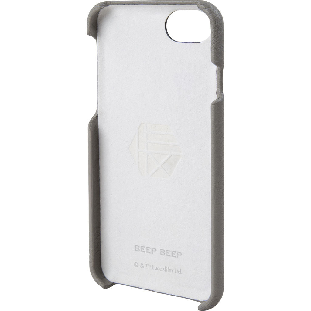 Hex Snap-In Case For Iphone 8 | R2-D2 Grey Emboss HX2536-R2GE