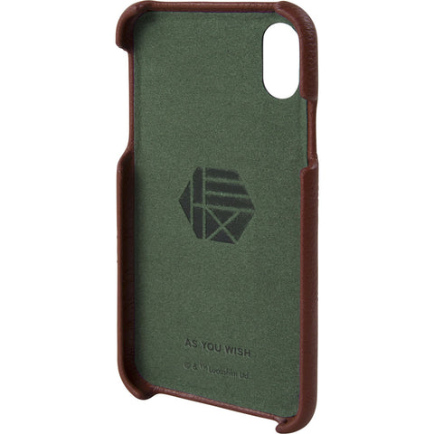 Hex Snap-In Case For Iphone X | Boba Fett Burgundy Emboss HX2538-BFBE