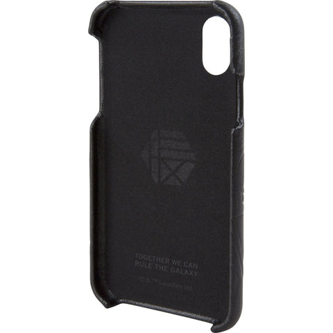 Hex Snap-In Case For Iphone X | Darth Vader Black Emboss HX2538-DVBE