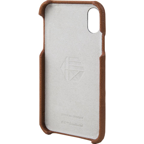 Hex Snap-In Case For Iphone X | X-Wing Brown Emboss HX2538-XWBE