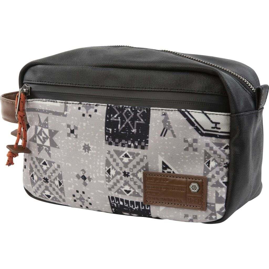 Hex Adventure Armenia Dopp Kit | Black/Natural