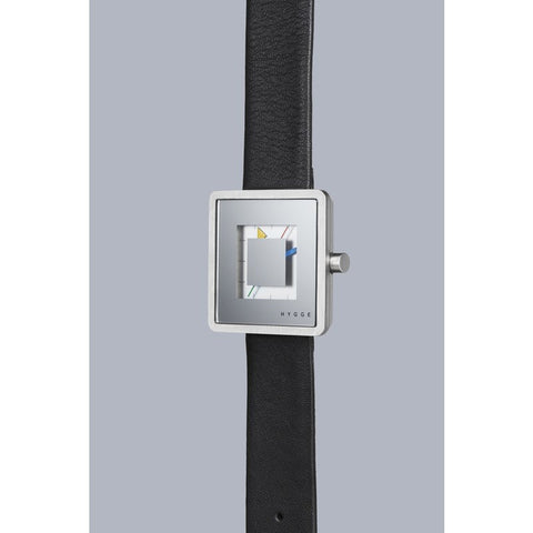 Hygge 2089 Series Silver Watch | Leather