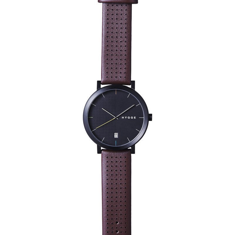 Hygge 2203 Black Watch | Bordeaux Leather MSL2203BC(BO)