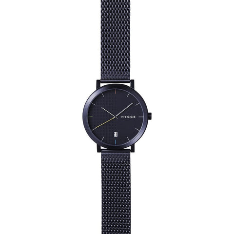 Hygge 2203 Black Watch | Black Stainless Steel MSM2203BC(BK)
