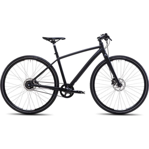 Steppenwolf Haller Cross 4.5 Commuter Bicycle | Shadow Matte Black- SWU015-5001H-1