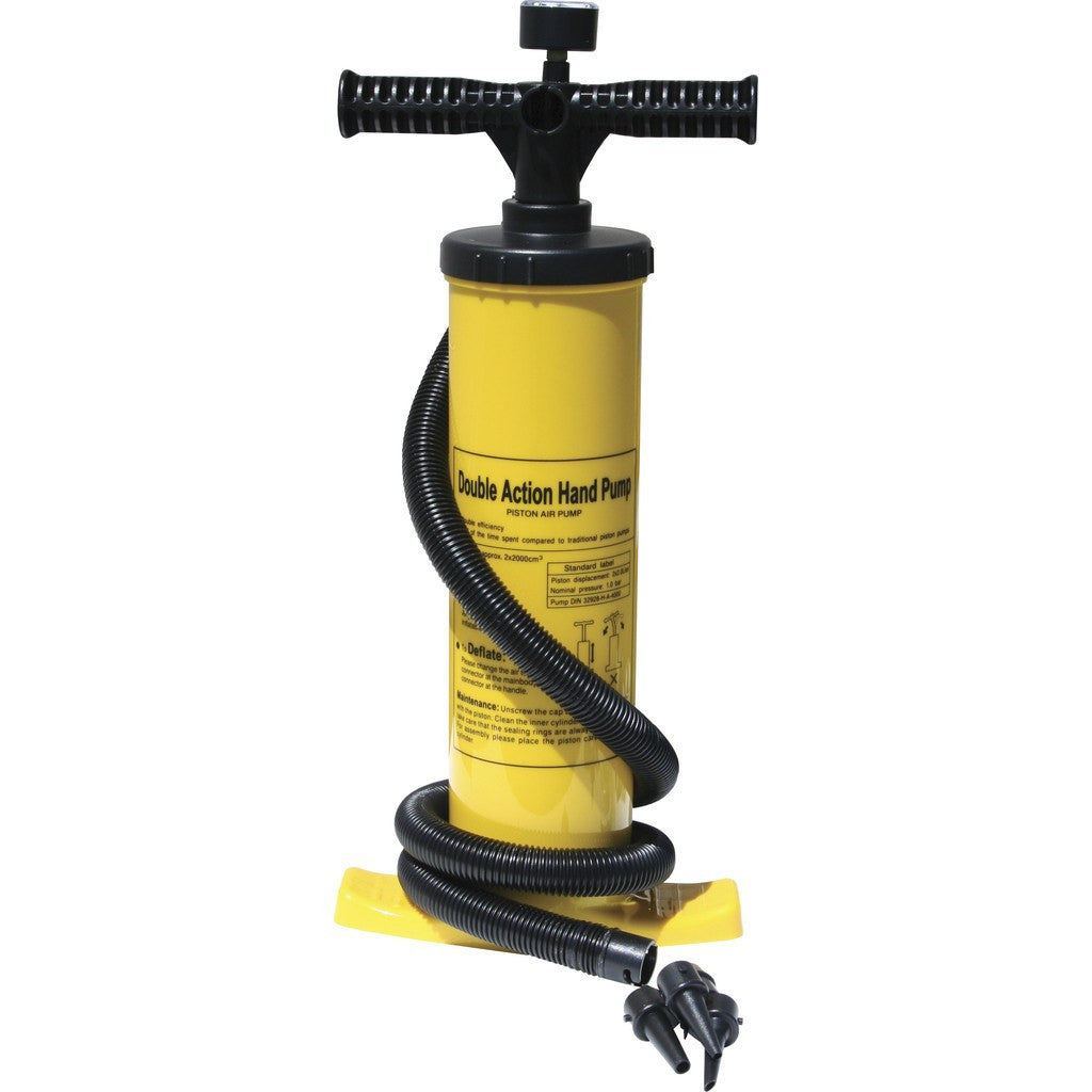 Advanced Elements Double Action Pump w/Gauge | Yellow/Black AE2011