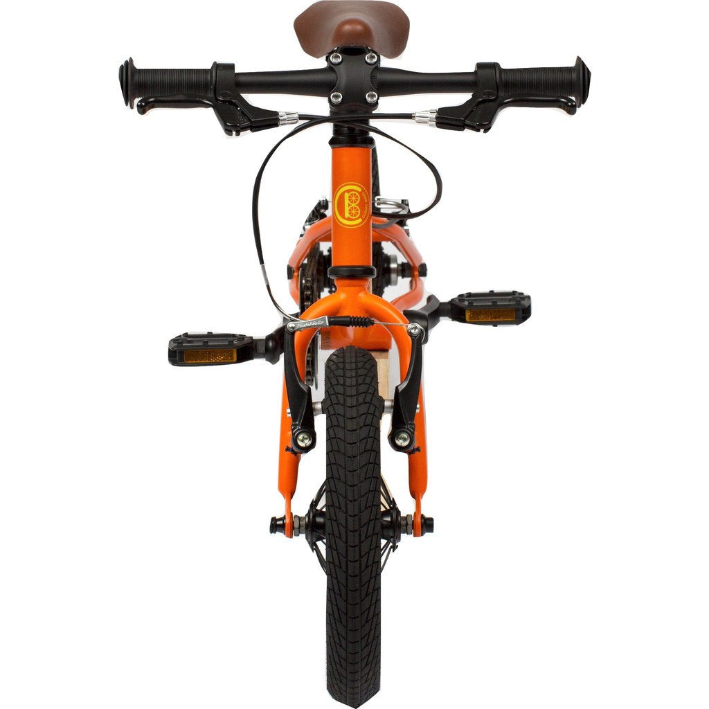 "Cleary Bikes Gecko 12"" Single Speed Bike Very Orange 100201"