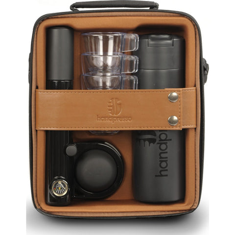 Handpresso Outdoor Pump Case | Black/Brown HPPICNICCASE