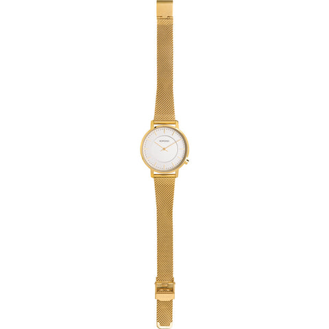Komono Harlow Watch | Gold Mesh KOM-W4109