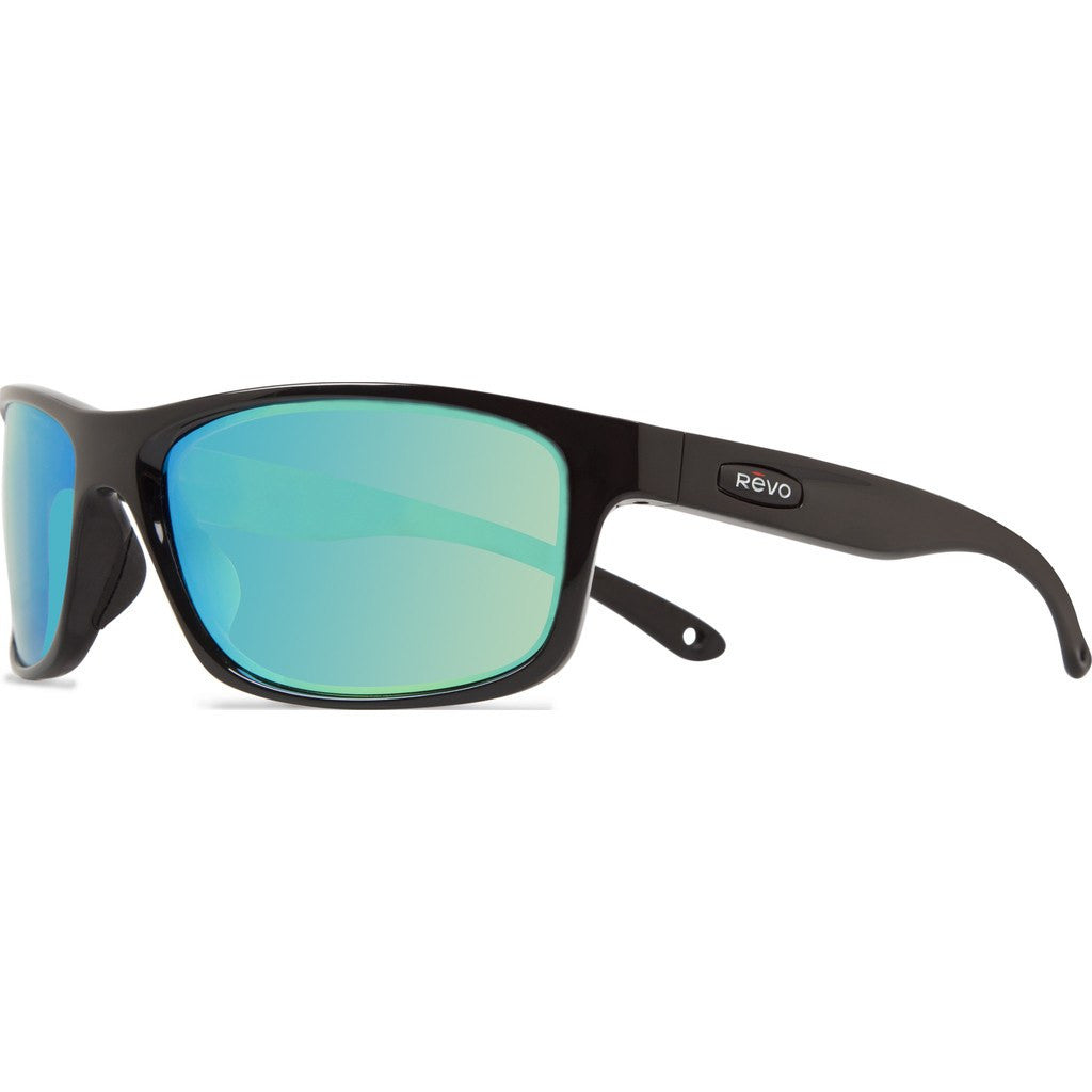 Revo Eyewear Harness Black Sunglasses | Green Water RE 4071 01 GN