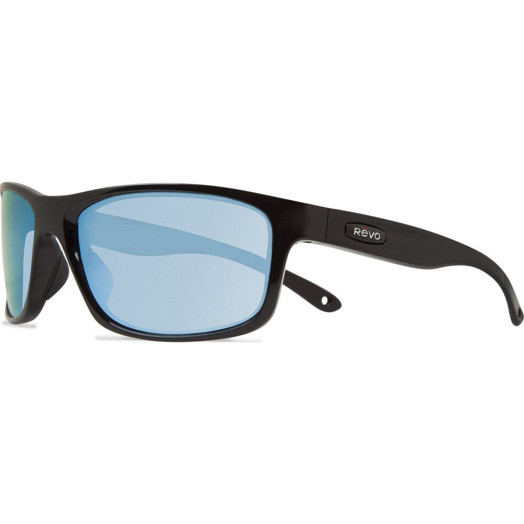 f7438cbee31 Revo Eyewear Harness Matte Black Sunglasses Blue Water RE 4071 11 BL ...