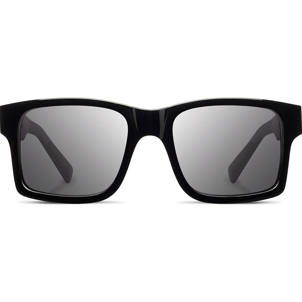 Shwood Haystack Acetate Sunglasses | Black & Ebony / Grey Polarized WAHBEBGP