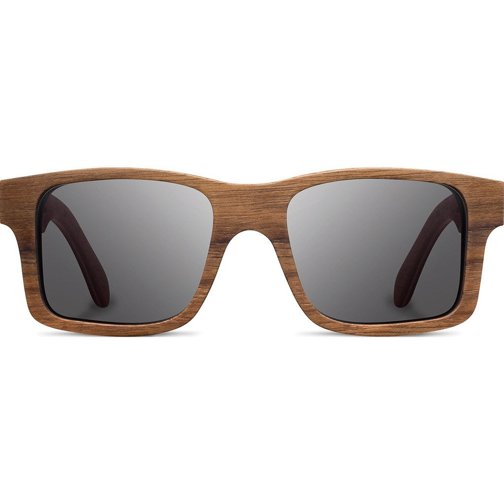 Shwood Haystack Original Sunglasses | Walnut / Grey Polarized WOHWGP