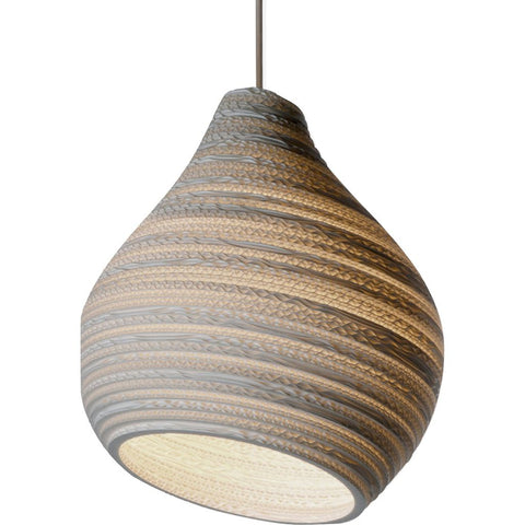 Graypants Scraplight Hive12 Pendant | White