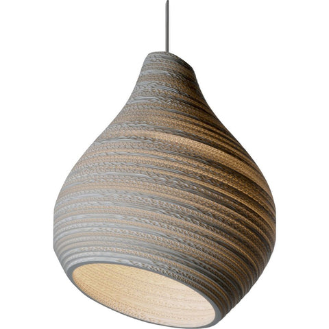 Graypants Scraplight Hive15 Pendant | White