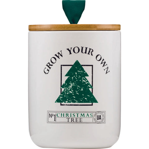 Urban Agriculture Ceramic Grow Your Own Kit | Christmas Tree XMAS1012