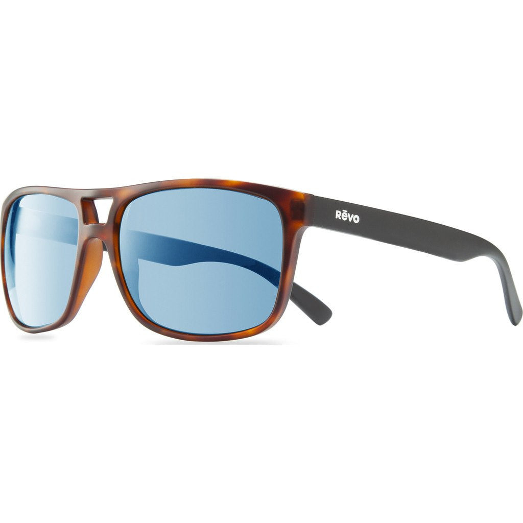 Revo Eyewear Holsby Matte Dark Tortoise Sunglasses | Blue Water RE 1019 02 BL