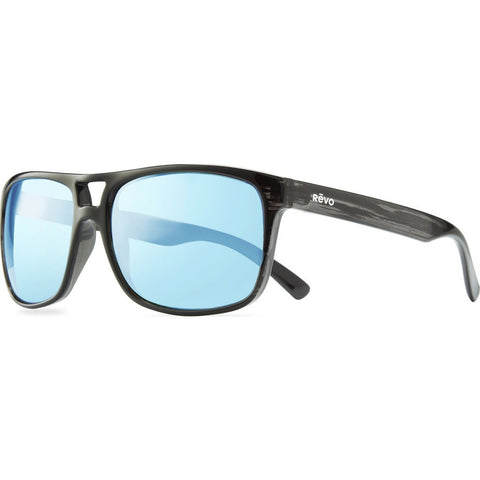 Revo Eyewear Holsby Black Woodgrain Sunglasses | Blue Water RE 1019 01 BL