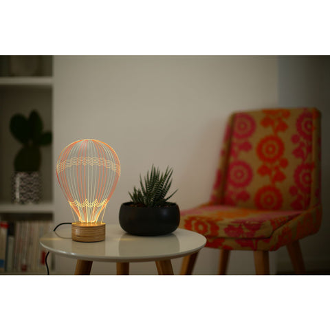 Studio Cheha Hot Air Balloon LED Table Lamp | Birch