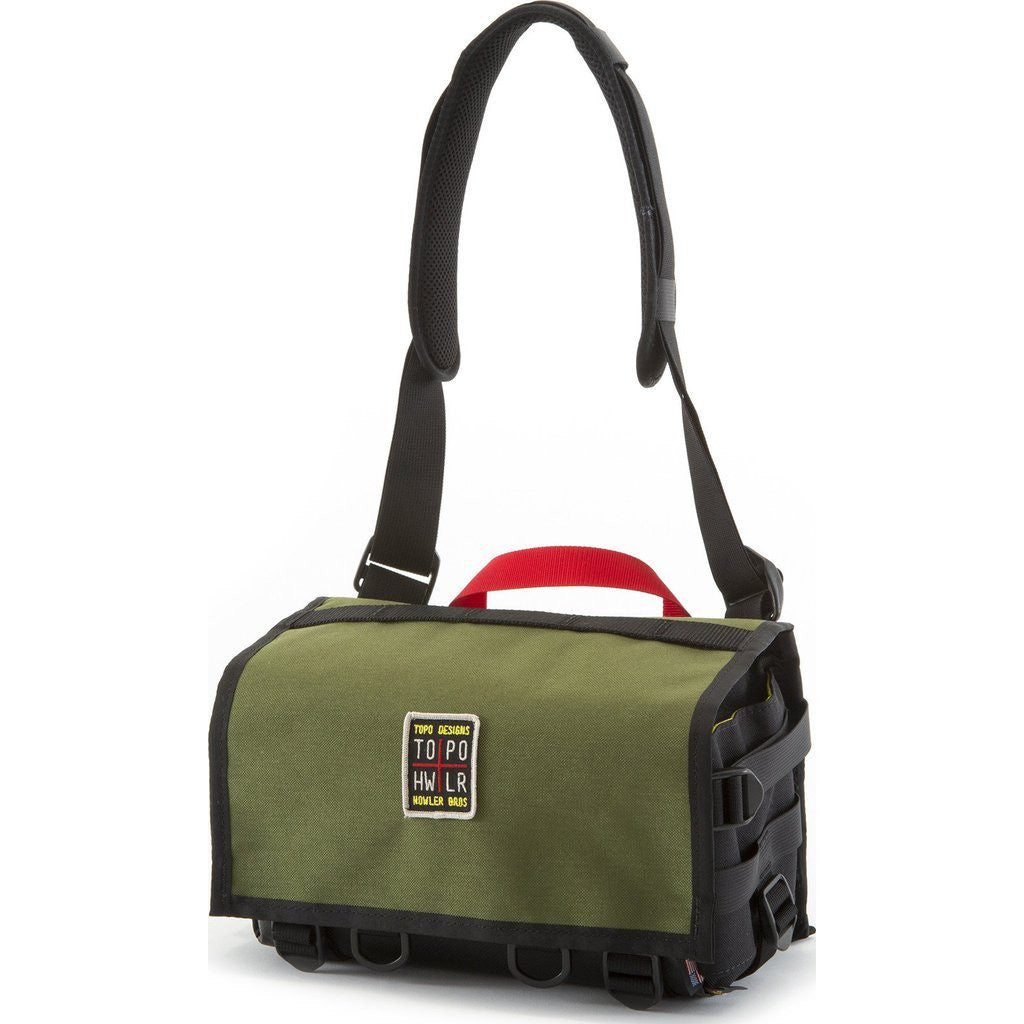 Topo Designs x Howler Bros Field Bag | Olive/Black