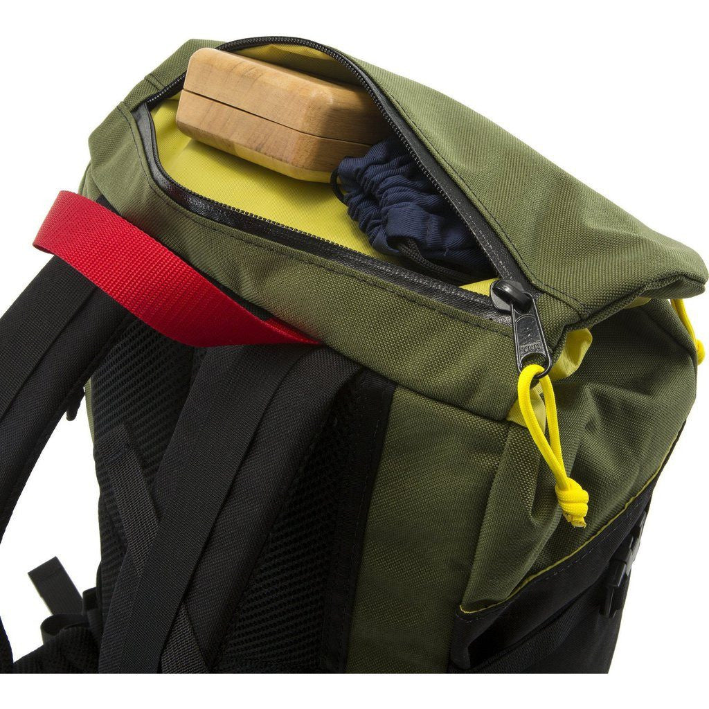 Topo Designs x Howler Bros Mountain Pack Backpack | Green/Black