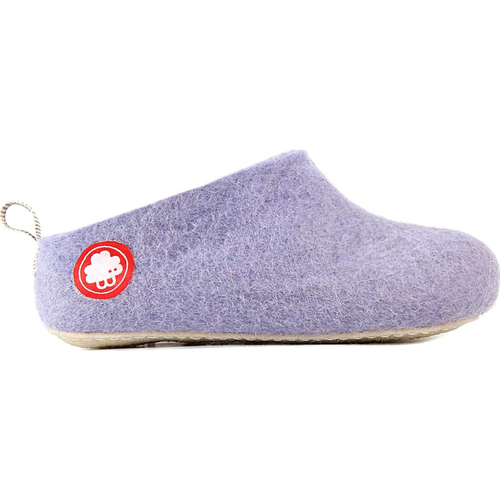 Baabuk Gus Wool Slippers | Light Violet 35 GUS02-V4-R-35