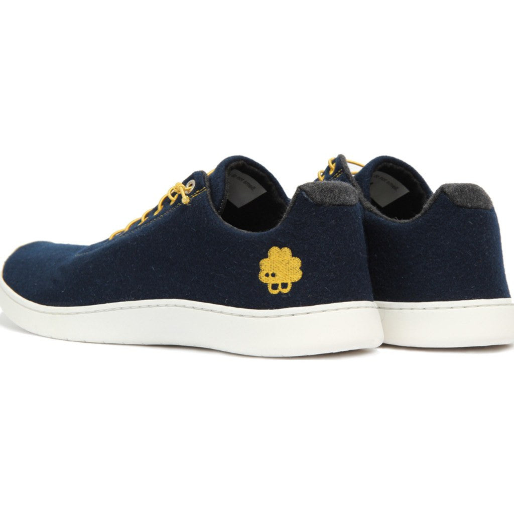 Baabuk Urban Wooler Sneaker -Dark Blue/Yellow Pay With Paypal Discount Explore Where To Buy Cheap Real Free Shipping Cheap Quality UV3JLCd