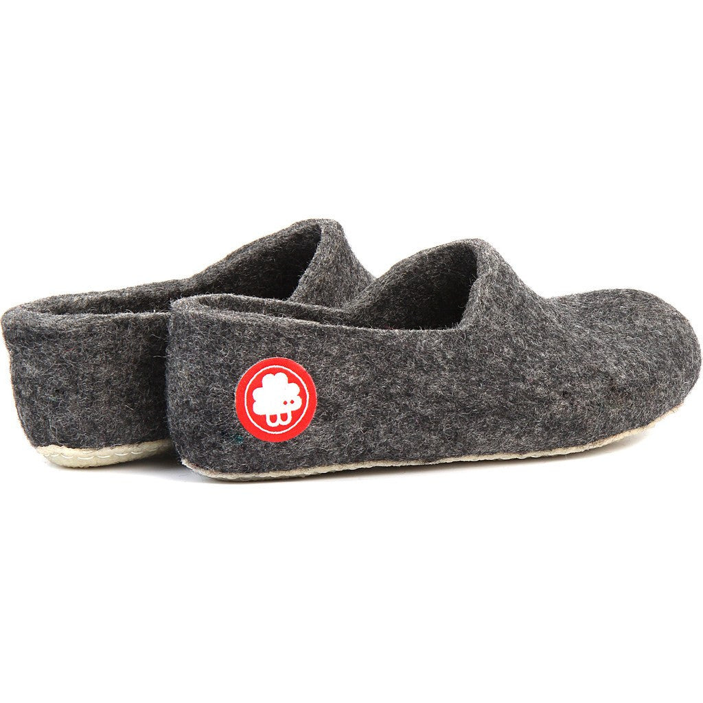 Baabuk Jeremy Wool Slippers | Dark Grey 37 JER02-DG-R-37