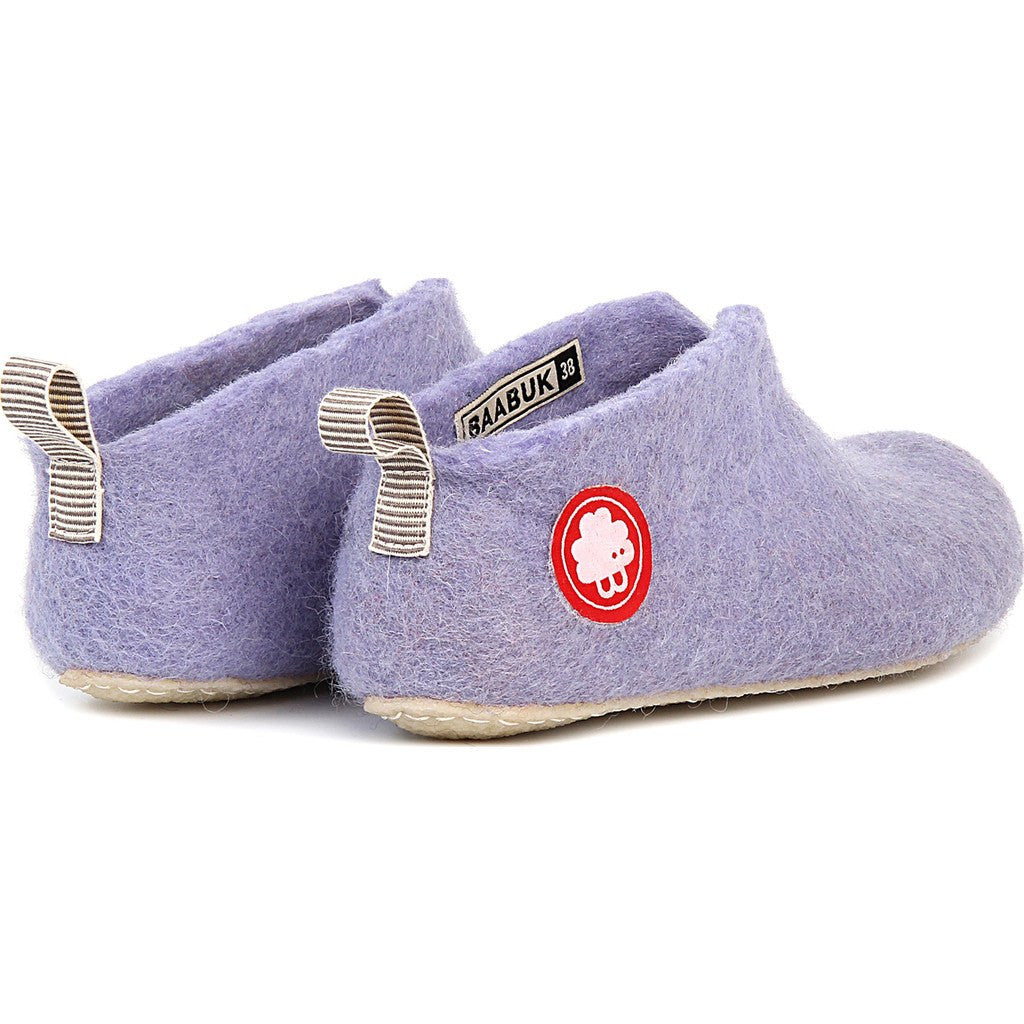 Baabuk Gus Wool Slippers | Light Violet 37 GUS02-V4-R-37