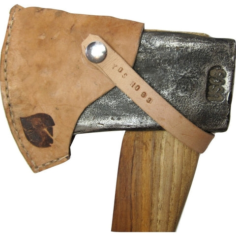Yellowood Design William Henry Camp Axe | Hickory & White/Gold/Black YDS_CAMP_AXE_001