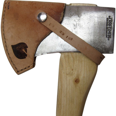 Yellowood Design Archer Camp Axe | Hickory & Green/Black/Silver/White YDS_CAMP_AXE_003