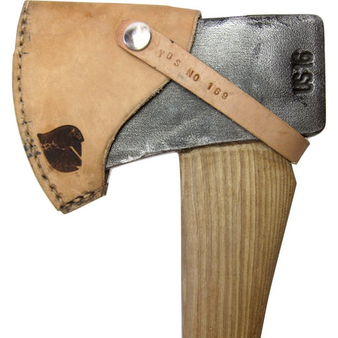 Yellowood Design Coleman Camp Axe | Hickory & Neon Flame YDS_CAMP_AXE_002