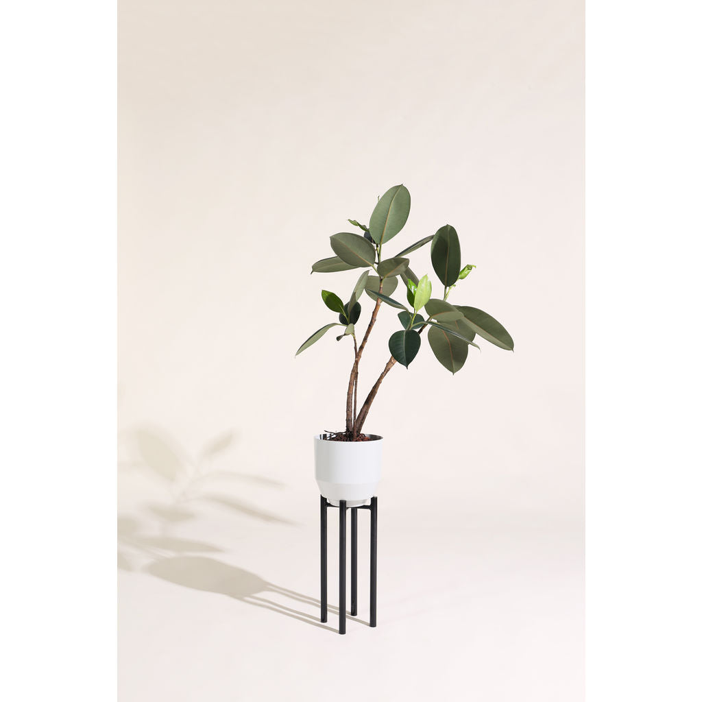 Yield Design Pale Gray Spun Planter