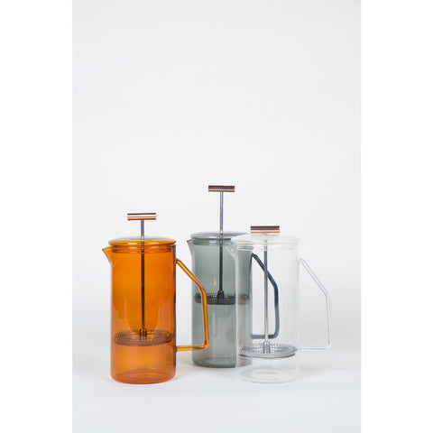 Yield Design 850mL French Press | Glass -Amber GFR-AMB