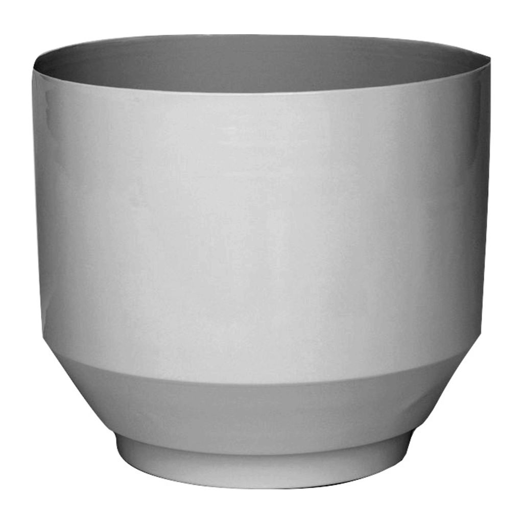 Yield Desgins Pale Gray Spun Planter | Peach Stand BSP-GRY + LPS-PEA