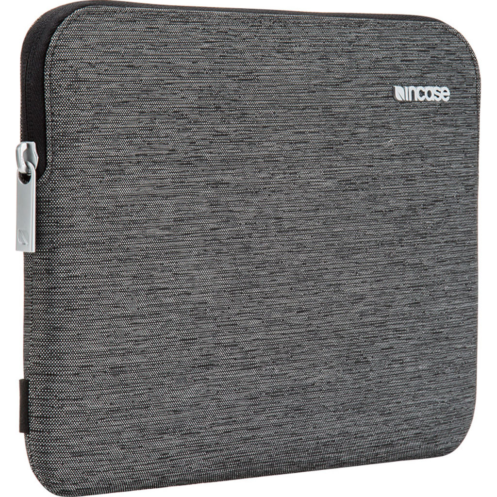 "Incase Slim Apple Tablet Sleeve with Pencil Slot | iPad Pro 9.7"" =Heather Black INPD10087-HBK"