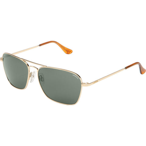 Randolph Engineering Intruder 23K Gold Plated Sunglasses | AGX Polarized PC Skull 58MM IR81433-PC